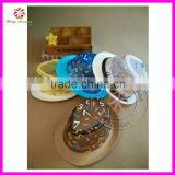 baby boy kids fedora hat with leather belt straw hat in stock