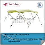 aluminium boats for fishing bimini top
