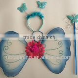 baby butterfly wings/artificial butterfly wings/ headband set