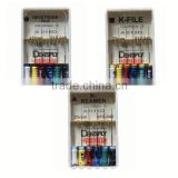 Dentsply Maillefer Files K File Colorinox dental root canal files