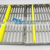 Stainless steel Dental sterilization box surgical