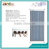 With existing heating supply device copper pipe solar collector for split solar water heater