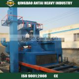 H beam shot blasting machine/Large construction machinery H section steel plate shot blasting machine