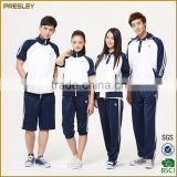 Polyester/Cotton Material and Middle School Uniform Type cheap white School Uniform Shirts