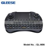 GLEESE 2.4G RF multi-function mini Wireless logitech Keyboard for android tv box with hebrew version