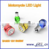 SCL-2014040073 LED bulb lighting motorcycle bulb BA20D 12V battery operated led light bulb