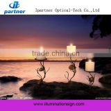 2015 Lastest Wall Art with Led Lights Canvas Print Lighted Candle Picture for Christmas Gift Cheap china factory wholesale