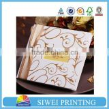 custom laser cut wedding cards/elegant lace invitations/wedding invitation card envelopes                                                                         Quality Choice