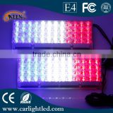 Good quality 12V 8W Police Lamp Led Flash Light Red Blue Color Warning Light with Controller Box