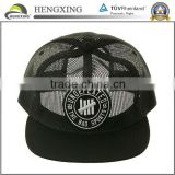 black full mesh trucker caps/hats for summer custom baseball hats