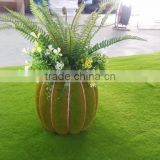 Brand-new design handmade artificial pumpkin bonsai plant indoor ornamental plants for sale