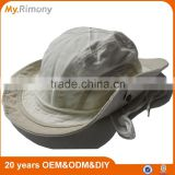 High quality canvas material bucket hat with string