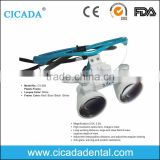 CICADA High quality dental loupes led light magnifying glass 2.5x 3..5x                                                                         Quality Choice