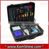 Universal Optic Fiber Tool Kit/fiber splicing tool kit/FTTH assembly KFS-35 Optic Fiber Tool Kit
