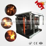 Industrial electric iron melting furnace for iron casting plant with lifelong maintenance