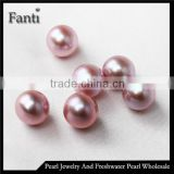 11-12mm AAA round natural pearl for making jewelry wholesale zhuji