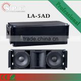 Dual 10inch active powered stage line array speaker system/outdoor waterproof L-acoustic /China professional sound system