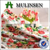 Shaoxing New design knitted ring spun viscose fabric for 2015 fashion clothing, fabric printing asia