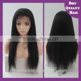 Factory directly wholesale 100 brazilian virgin hair full lace wigs, brazilian silky straight hair, human hair full lace wig