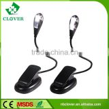 ABS material 3pcs AAA battery lamp for computer table