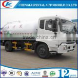 Waste disposal collection tanker truck hydraulic pump cleaning vacuum suction sewage tanker truck, vacuum sewage suction