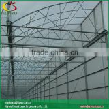 Sawtooth type plastic film greenhouse large greenhouses corrugated plastic greenhouse panels