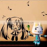 New Hatsune Miku - Vocaloid Anime Wall Decal Japanese Waterproof Vinyl Multifunction Decorative Sticker OSK012