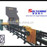 Popular Equipment :Semi CNC Angle Machine punching Production Line for steel tower/CNC Angle line /Punching machine