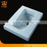CRW HTC3781 Ceramic Bathroom Toilet Squatting Pan