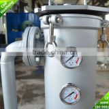 Carbon steel liquid bag filter housing water treatment plant best swimming pool water purifier