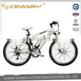 26'' 8fun mid-motor electric road bicycle mountain lithium battery