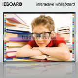 Education electronic Infrared finger touch multi touch digital smart interactive white board for classroom