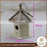 Decorative Bamboo Cypress Bird House Wooden Bird Cages Wholesale