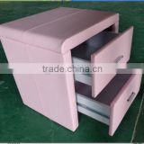 Hot sale pink leather night stand