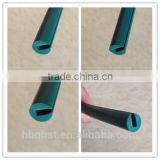 Universal silicone rubber decorative edge trim u shaped strips/rubber edge protection seal strip