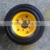 airport baggage trolley wheel , airport luggage trolley wheel 4.00-8