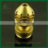 CNC Machining Parts for Electronic Parts, precision brass cnc turning and drilling parts