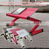 2014 laptop table Stand recliner computer laptop notebook computer adjustable desk table for bed and sofa, office table design