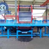 Safety operation coconut husk shredder/wood crusher machine for Asia customer