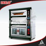 Deck Type Gas Commercial Bread Making Machines/Arabic Bread Bakery/Bread Baking Equipment