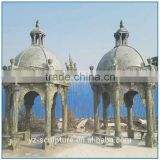 West style outdoor large green marble gazebo for sale