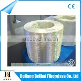 High silicon content fireproof fiberglass cloth
