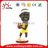 Custom Resin bobble head basket ball NBA player Bobble head resin figure craft figurine statue