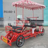 INquiry about Cheap four wheel surrey bike bike for adults