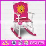 2015 Hot New design kids wooden rocking chair,Mini children wood rocking chair,Best quality Indoor Wooden Rocking Chair WJ278587