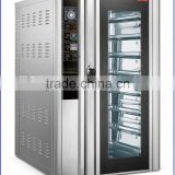 New Products Automatic Electric 5 / 8 / 10 Trays Convection Bakery Ovens With Steam