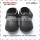 black hard sole baby first steps baby moccasins baby shoes