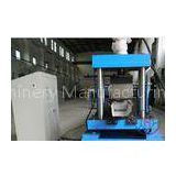 Customized Half Square Gutter Downspout Roll Forming Machine Panasonic PLC Control System