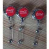 Badge Holder type Newest bottle cup  Retractable id work business card holder yoyo badge holder Pull reel