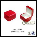 Matt Finish Wooden Earring Jewelry Box